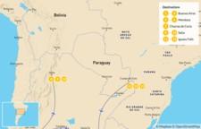 Map thumbnail of Classic Argentina: Buenos Aires, Mendoza, Salta & Iguazú - 14 Days