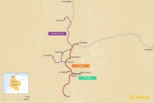 Map thumbnail of Ultimate Guide to Colombia's Coffee Region