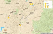 Map thumbnail of Highlands of Ecuador - 5 Days
