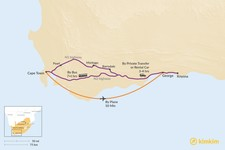 Map thumbnail of How to Get from Cape Town to Garden Route