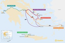 Map thumbnail of 7 Days in the Greek Islands - 5 Unique Itinerary Ideas