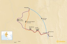 Map thumbnail of How to Get from Mandalay to Inle Lake