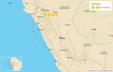 Map thumbnail of Northern Peru: Kuélap Ruins, Gocta Waterfall, Museums, & Mausoleums - 5 Days