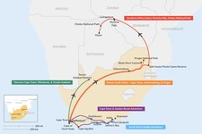 Map thumbnail of 12 Days in South Africa - 5 Unique Itinerary Ideas
