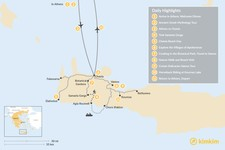 Map thumbnail of Athens and Crete Family Adventure - 11 Days