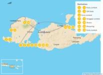 Map thumbnail of Discover the Hidden Treasures of Lombok & Sumbawa - 20 Days