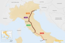 Map thumbnail of Venice, Rome, & Florence: Best Itinerary Ideas