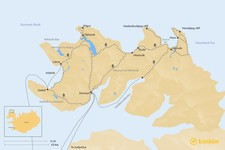 Map thumbnail of Guide to Hornstrandir Nature Preserve - Remote Wilderness in Northwest Iceland