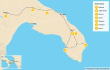 Map thumbnail of Cycling In Southern Italy - 8 Days