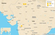 Map thumbnail of Golden Triangle & Rajasthan - 11 Days