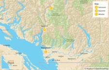 Map thumbnail of Sea-to-Sky Highway Getaway - 4 Days