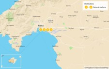 Map thumbnail of Highlights of Mallorca: Beaches, Mountains, and Culture - 5 Days