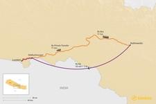 Map thumbnail of How to Get from Kathmandu to Lumbini