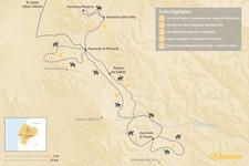 Map thumbnail of Cotopaxi Volcano By Horseback - 5 Days