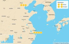 Map thumbnail of Family Trip to Beijing and Shanghai - 8 Days
