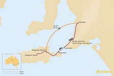 Map thumbnail of How to Get from Adelaide to Kangaroo Island