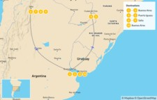 Map thumbnail of Discover Northern Argentina - 11 Days