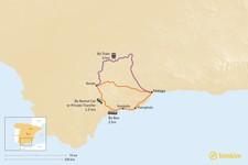 Map thumbnail of How to Get from Ronda to Málaga