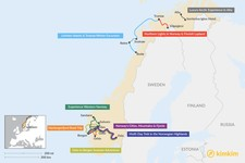 Map thumbnail of 6 Days in Norway- 8 Unique Itinerary Ideas