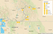 Map thumbnail of Calgary to Vancouver Road Trip: Banff, Revelstoke, Nelson, & Osoyoos - 12 Days