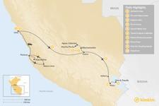 Map thumbnail of Adventurer's Trip to Peru - 10 Days