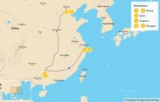 Map thumbnail of Beijing, Guilin, & Shanghai - 7 Days