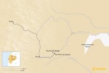 Map thumbnail of Yacuma Ecolodge: Day & Multi-Day Tours in the Amazon