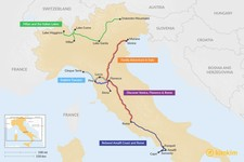 Map thumbnail of 13 Days in Italy - 5 Unique Itinerary Ideas