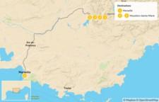 Map thumbnail of Provençal Alps Adventure: Marseille & Verdon - 6 Days