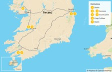 Map thumbnail of Classic Ireland Adventure - 7 Days