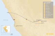 Map thumbnail of Peru Honeymoon Highlights - 10 Days