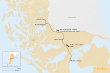Map thumbnail of How to Get from Punta Arenas to Puerto Natales
