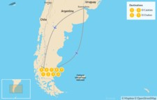 Map thumbnail of Best of Argentine Patagonia - 10 Days