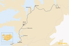 Map thumbnail of How to Get from Reykjavik to Vatnsnes Peninsula