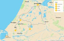 Map thumbnail of Highlights of Holland - 5 Days