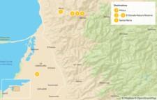Map thumbnail of Birding Tour of Coastal Colombia - 6 Days