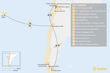 Map thumbnail of Chile Grand Tour - 13 Days