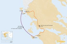 Map thumbnail of How to Get from Corfu to Zakynthos