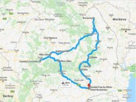 Map thumbnail of Treasures of Romania - 8 Days