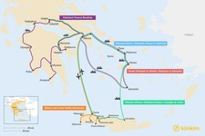 Map thumbnail of 11 Days in Greece - 5 Unique Itinerary Ideas
