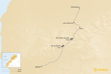 Map thumbnail of How to Get from Marrakech to Agafay