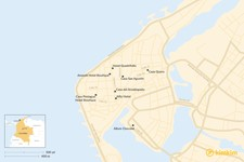 Map thumbnail of Where to Stay in Cartagena - The Best Boutique Hotels