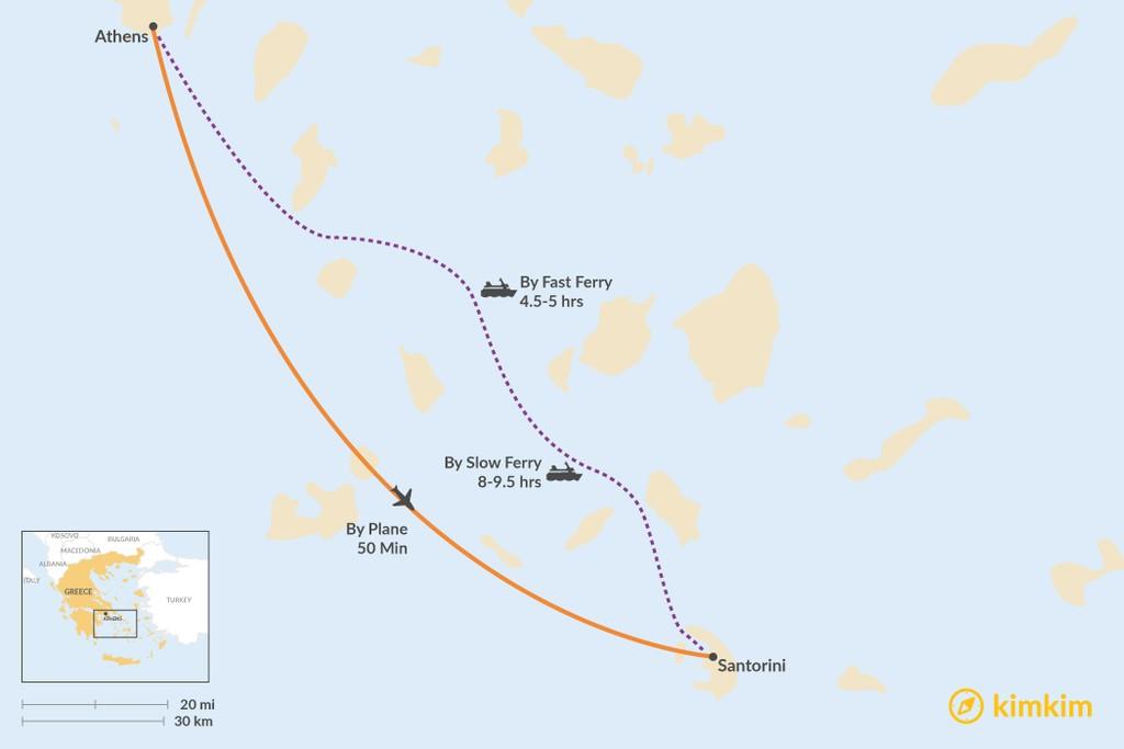 Athens To Santorini Best Routes Travel Advice Kimkim