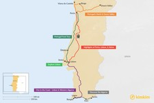 Map thumbnail of 5 Days in Portugal - 6 Unique Itinerary Ideas