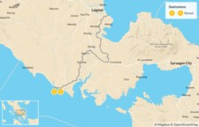 Map thumbnail of Whale Shark Encounter in the Philippines: Ticao & Donsol - 3 Days