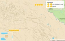 Map thumbnail of Highlights of Chiapas - 10 Days