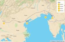 Map thumbnail of Northeast Italy: Trieste, Grado, Venice, & Verona - 10 Days