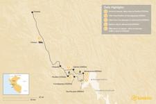 Map thumbnail of Cordillera Huayhuash - 9 Days