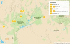 Map thumbnail of Utah's National Parks - 8 Days