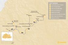 Map thumbnail of Bhutan Family Adventure - 8 Days